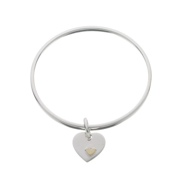 Links of London Classic Heart Bangle - 5012.0216
