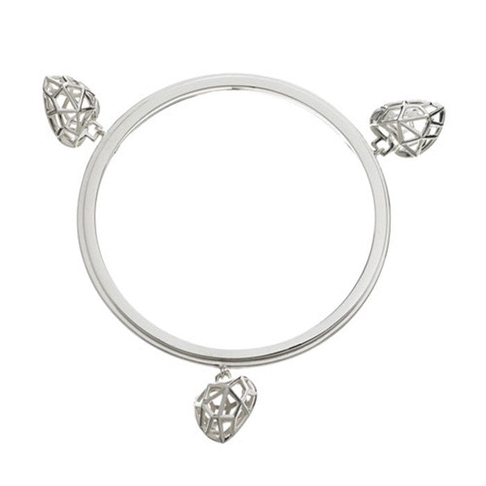 Links of London Flutter & Wow Heart Bangle - 5012.0317