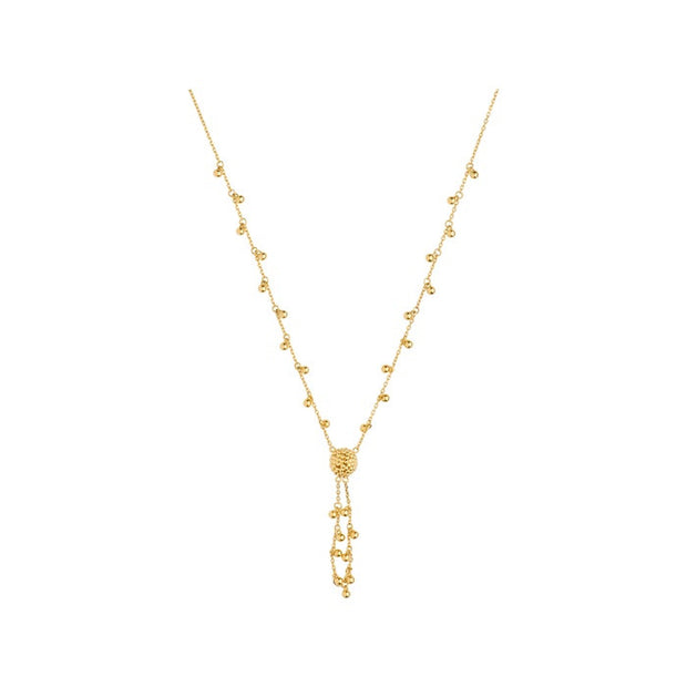 Links of London Effervescence Bubble Tassle 18K Gold Necklace - 5020.2060