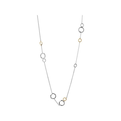 Links of London 20/20 Bi-Metal Pendant Long Necklace - 5020.2231