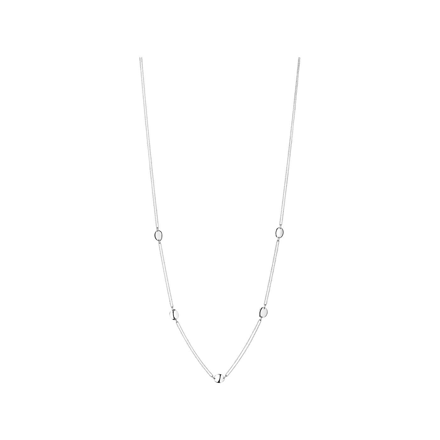 Links of London Grace Sterling Silver Station Necklace - 5020.2835