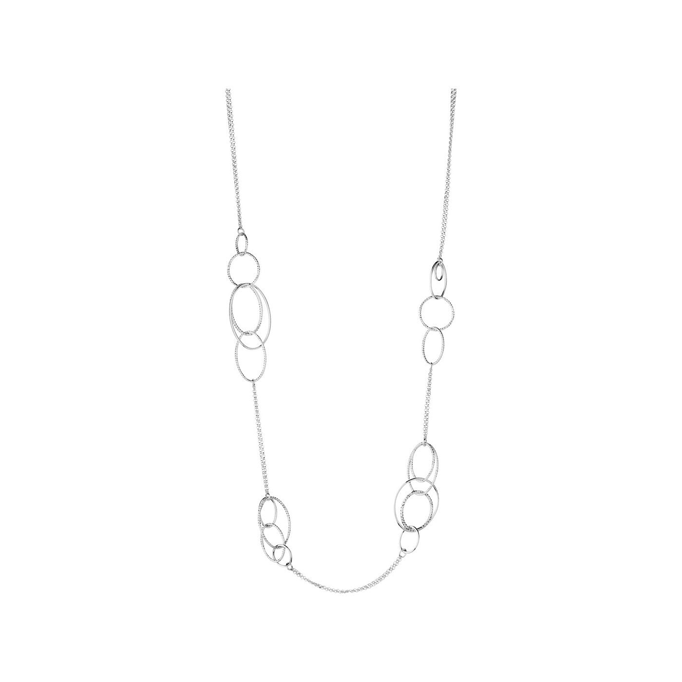 Links of London Aurora Sterling Silver Multi Station Necklace - 5020.2845