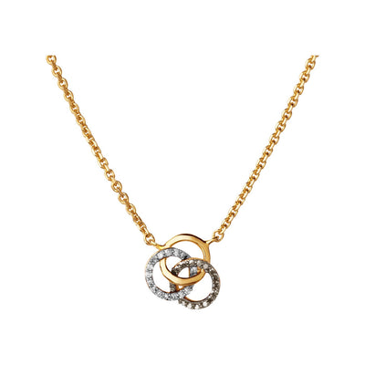 Links of London Champagne Necklace - 5020.3173