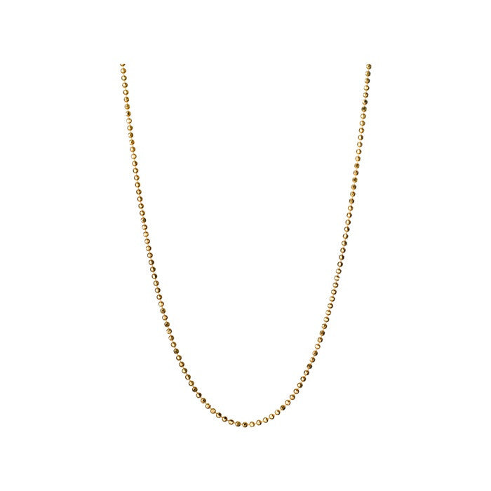 Links of London Facetted Gold Ball Chain - 5022.0751