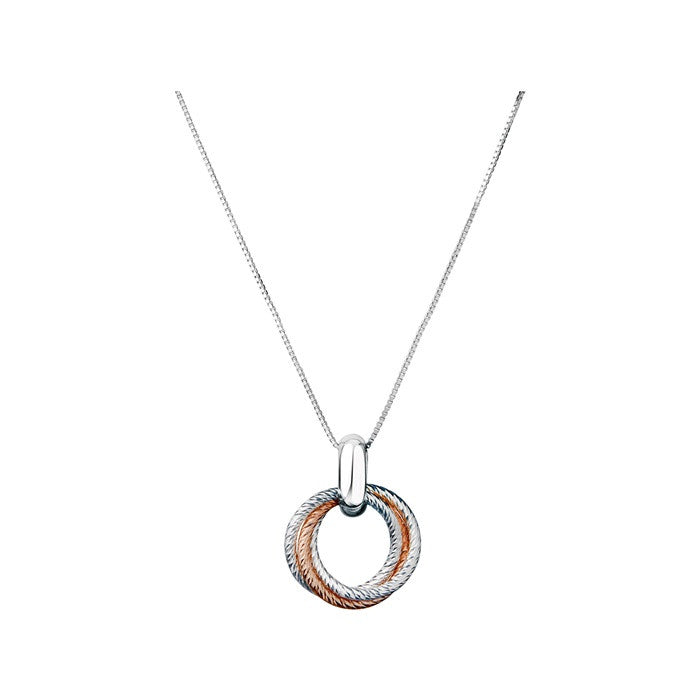 Links of London Aurora Cluster Link Pendant Necklace - 5024.1285