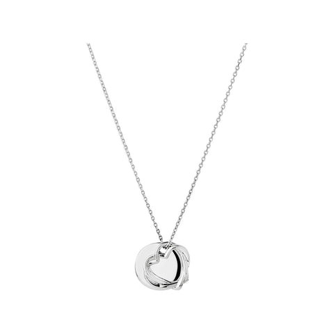 Links of London Kindred Soul Disc Pendant Necklace - 5024.1310