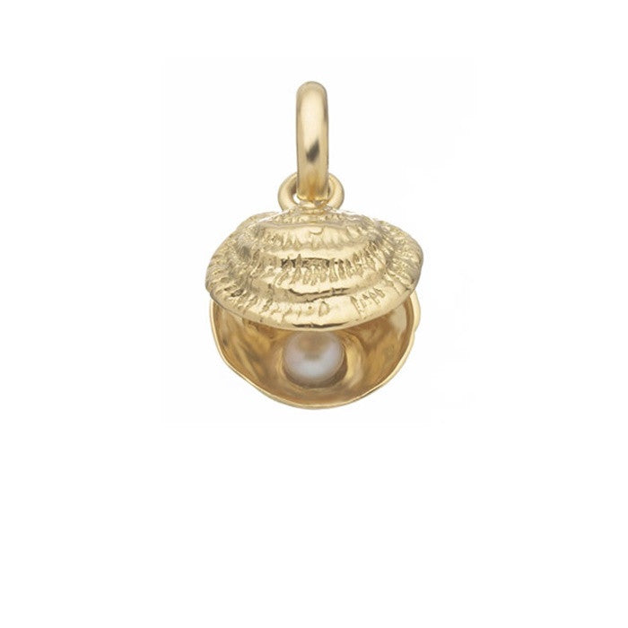 Links of London Lucky Catch 18K Gold & White Pearl Charm - 5030.0420