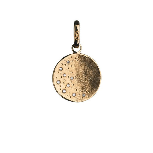 Links of London Watch Over Me Moon 18K Yellow Gold Charm - 5030.1005