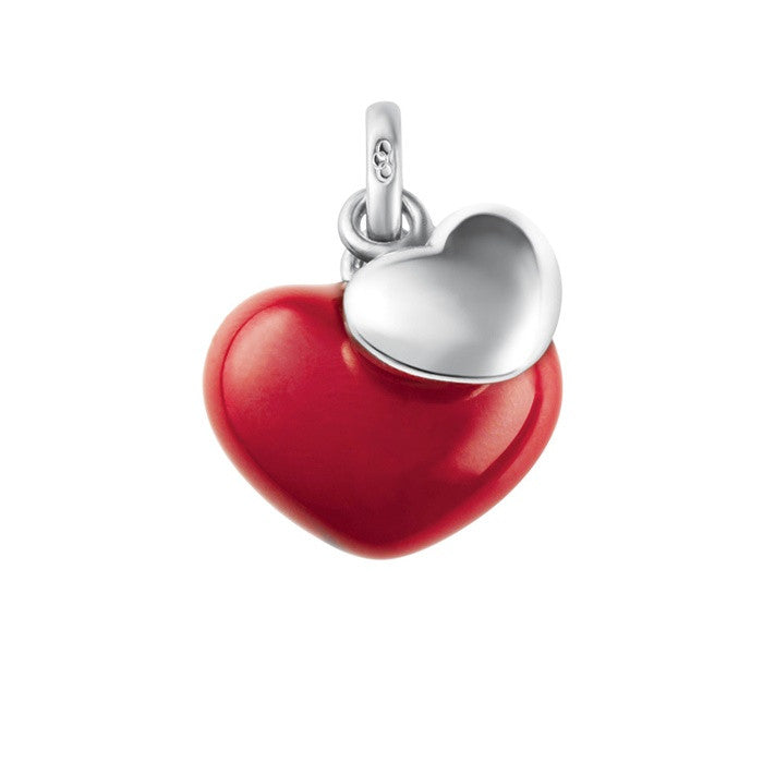 Links of London Two Hearts Red Charm - 5030.1011