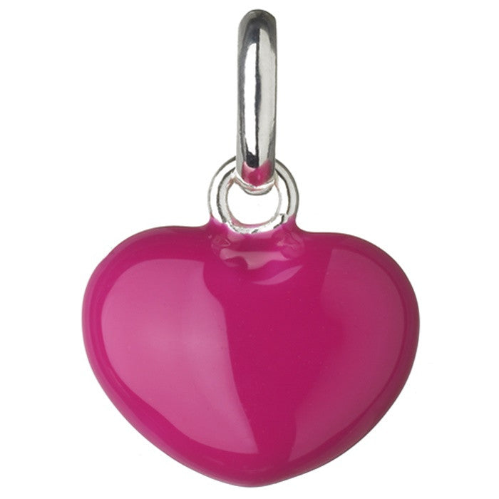 Links of London Hot Pink Heart Charm - 5030.1090