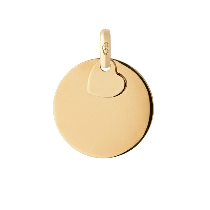 Links of London Yellow Gold Vermeil Disc Pendant Charm - 5030.2307