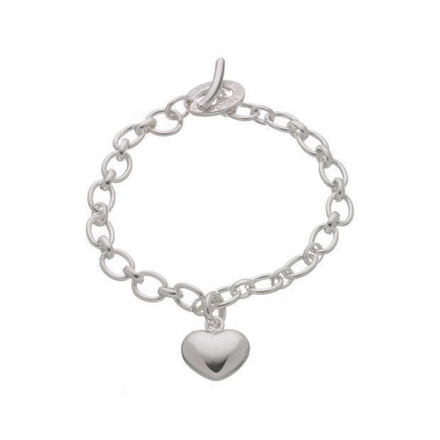 Links of London Heart Charm Bracelet - 5032.0124