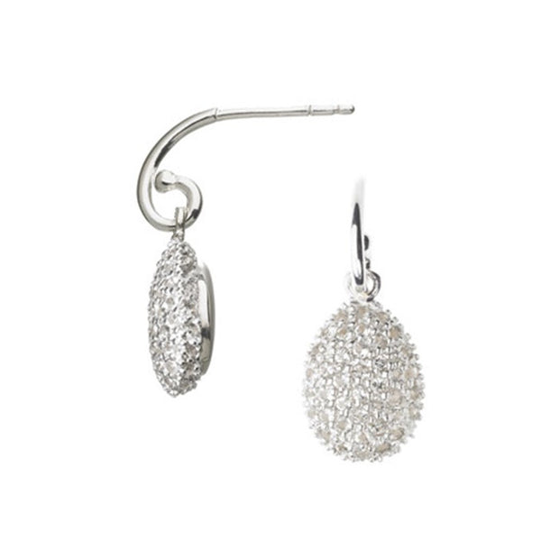 Links of London Hope Egg White Topaz Earrings - 5040.0857