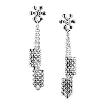 Links of London Sterling Silver Effervescence Star Stiletto Earrings - 5040.1884