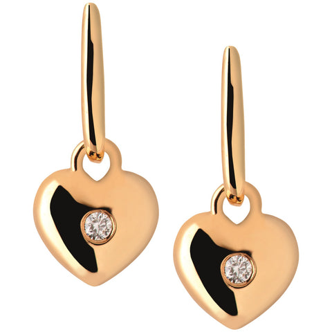 Links of London Heart Drop Earrings - 5040.2275