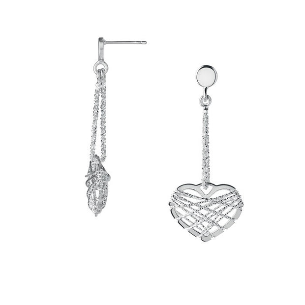 Links of London Dream Catcher Heart Earrings - 5040.2328