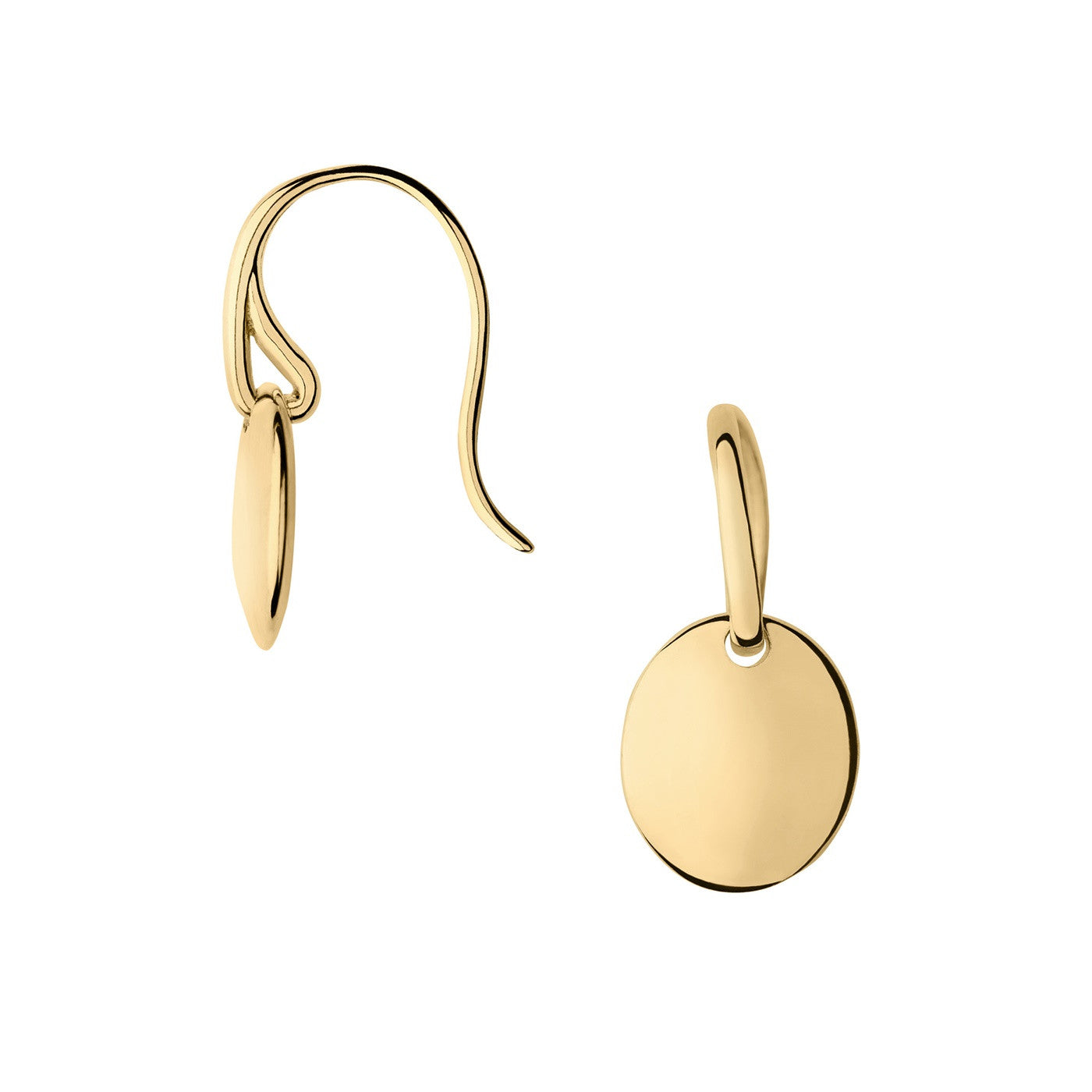 Links of London Grace 18K Yellow Gold Vermeil Single Drop Earrings - 5040.2476