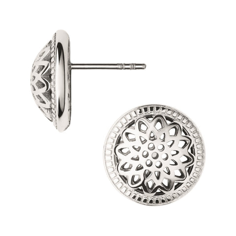 Links of London Timeless Domed Stud Earrings - 5040.2555