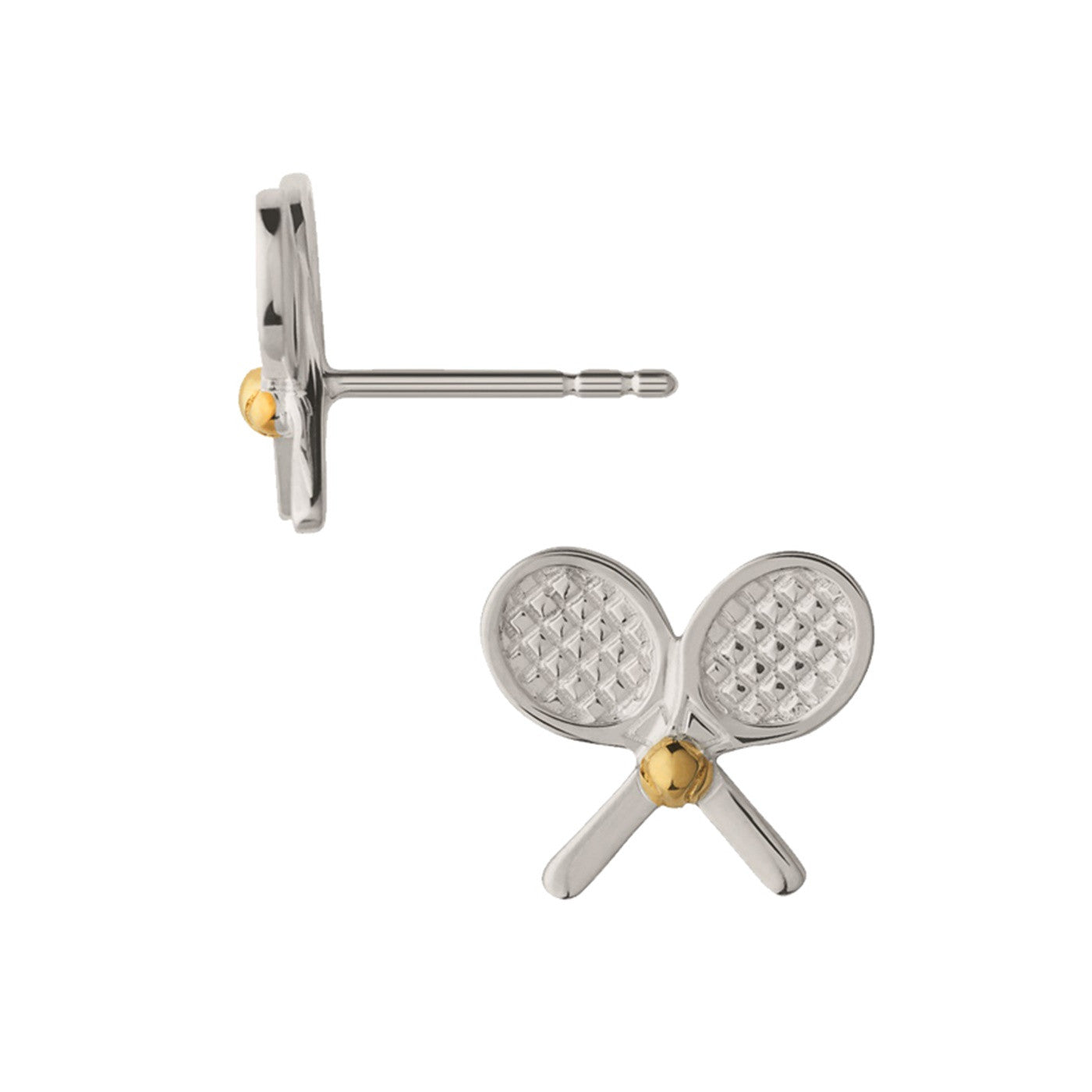 Links of London Wimbledon Tennis Crossed Stud Earrings - 5040.2691