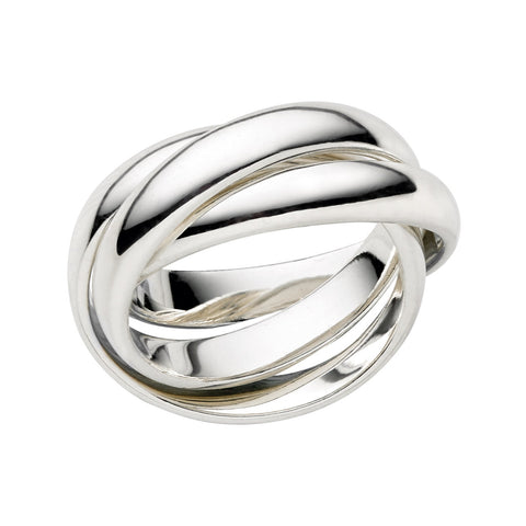 Links of London Essentials Sterling Silver Triple Ring - 5045.0349