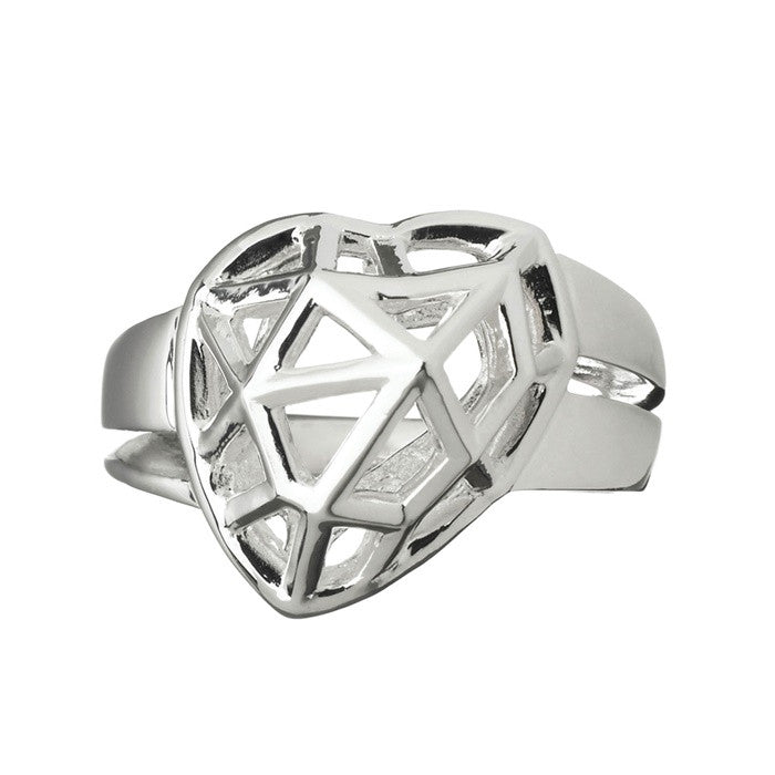 Links of London Flutter & Wow Heart Ring - 5045.0981