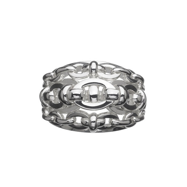 Links of London Brit Lines Cocktail Ring - 5045.2077