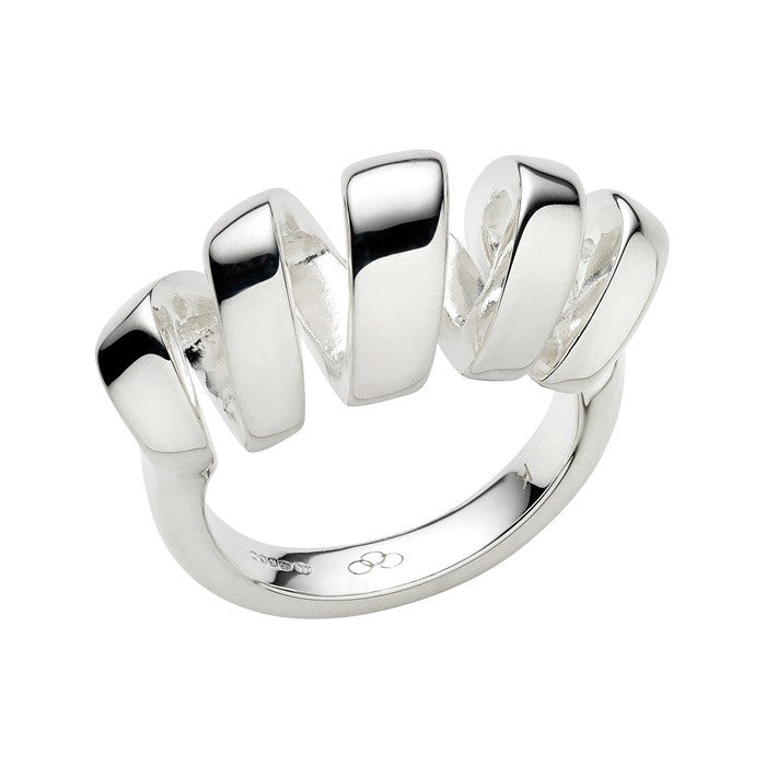 Links of London Sterling Silver Entwine Cocktail Ring - 5045.3314