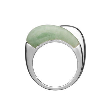 Links of London Hope Double Ring with Green Aventurine Ring - 5045.3583