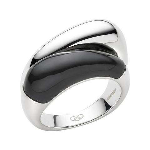 Links of London Hope Double Onyx Ring - 5045.3590