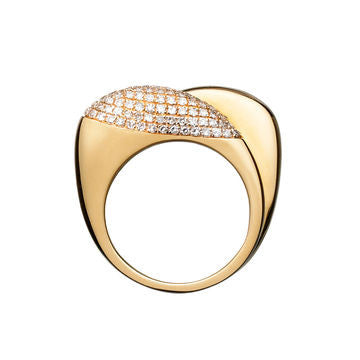 Links of London Hope 18K Gold and Diamond Double Ring