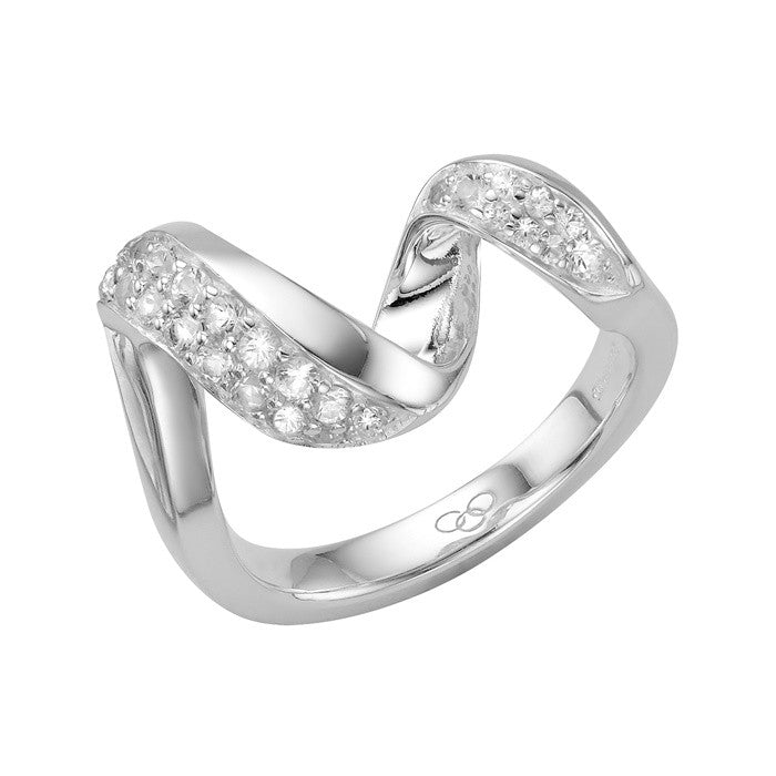 Links of London Sterling Silver Entwine Ring - 5045.3842