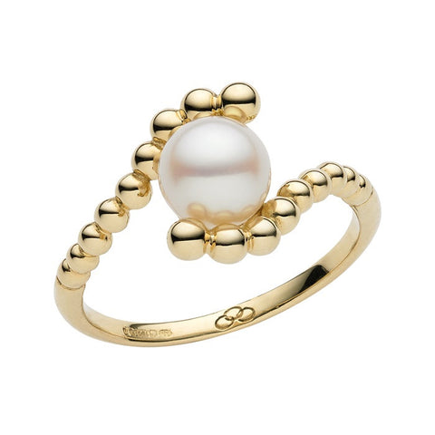 Links of London Effervescence White Mini Pearl Ring - 5045.4078