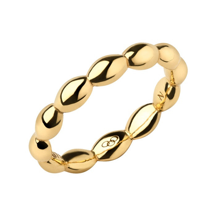 Links of London Hope 18k Yellow Gold Slim Ring - 5045.5321