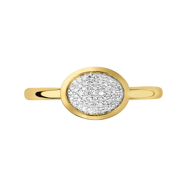 Links of London Essentials Oval Ring - 5045.5498