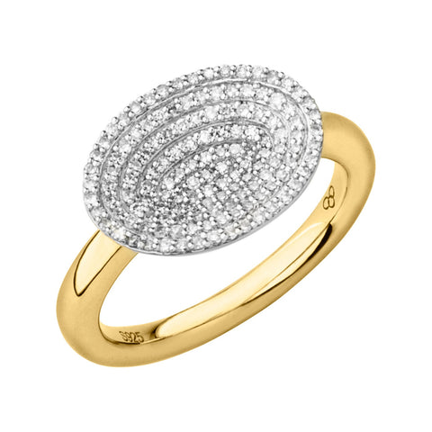 Links of London Concave Diamond Ring - 5045.5645