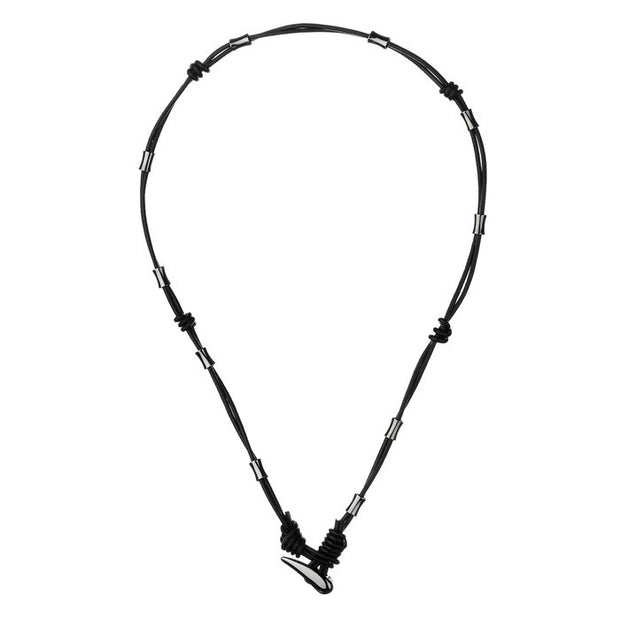 Links of London Rogue Tusk Bracelet Necklace Ruthenium - 5224.0132