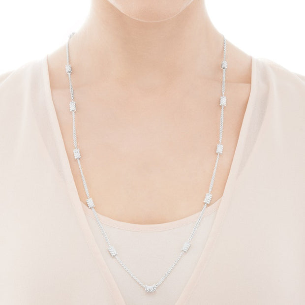Links of London Effervescence Star Long Chain Necklace - 5224.0152