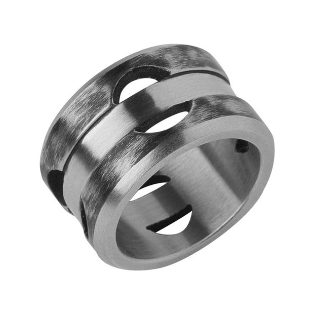 Links of London Steel Elements Ring - 5245.0279