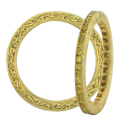 Sethi Couture Simple Elegance Channel Set Ring
