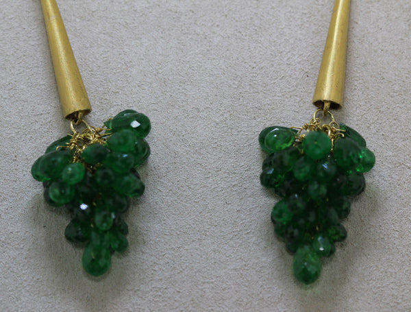 Passion Collection Green Garden Earrings