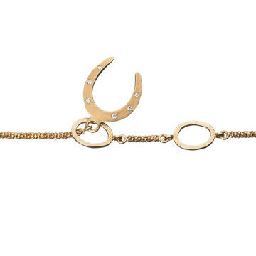 Links of London 18K Yellow Gold and Diamond Watch Over Me Serenity Bracelet - 5010.0572
