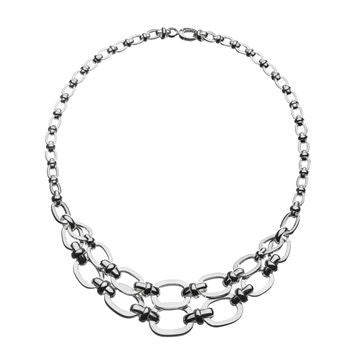 Links of London Brit Lines Multi Necklace - 5020.1067