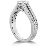 Hearts On Fire Adoration Double Row Engagement Ring