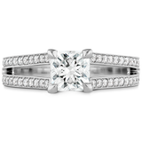 Hearts On Fire Adoration Dream Double Row Engagement Ring