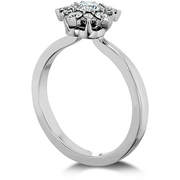 Hearts On Fire Aerial Cluster Engagement Diamond Ring