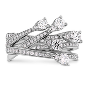 Hearts On Fire Aerial Cross Over Right Hand Diamond Ring