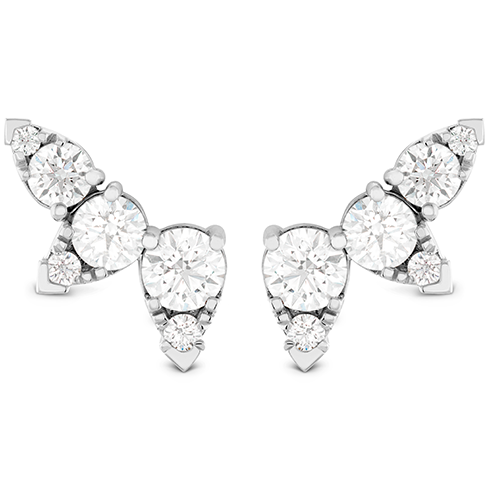 Hearts On Fire Aerial Diamond Ear Vine Diamond Earrings