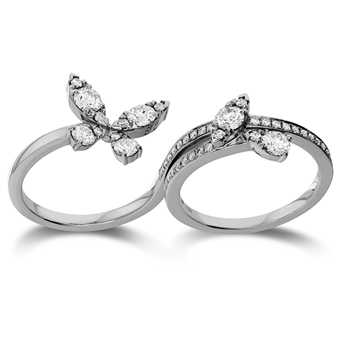 Hearts On Fire Aerial Diamond Intensive Double Ring