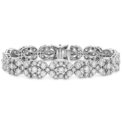 Hearts On Fire Arial Double Row Diamond Bracelet
