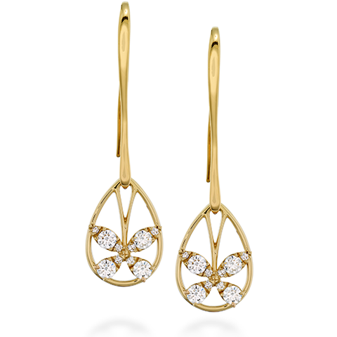 Hearts On Fire Aerial Diamond Drop Earrings